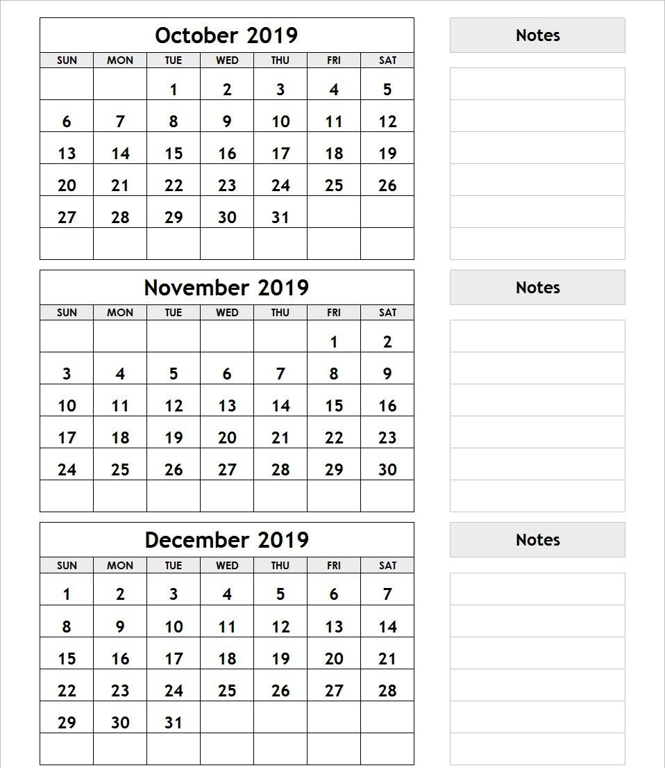 3 Month Blank Printable   Example Calendar Printable 3 Month Calendar Template Printable