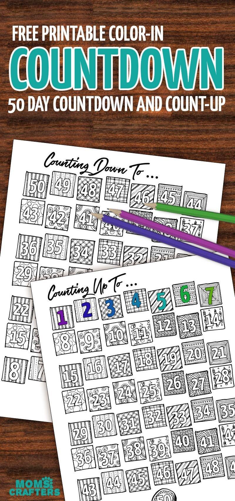 365 Countdown Calendar | Calendar For Planning 365 Day Calendar Counter