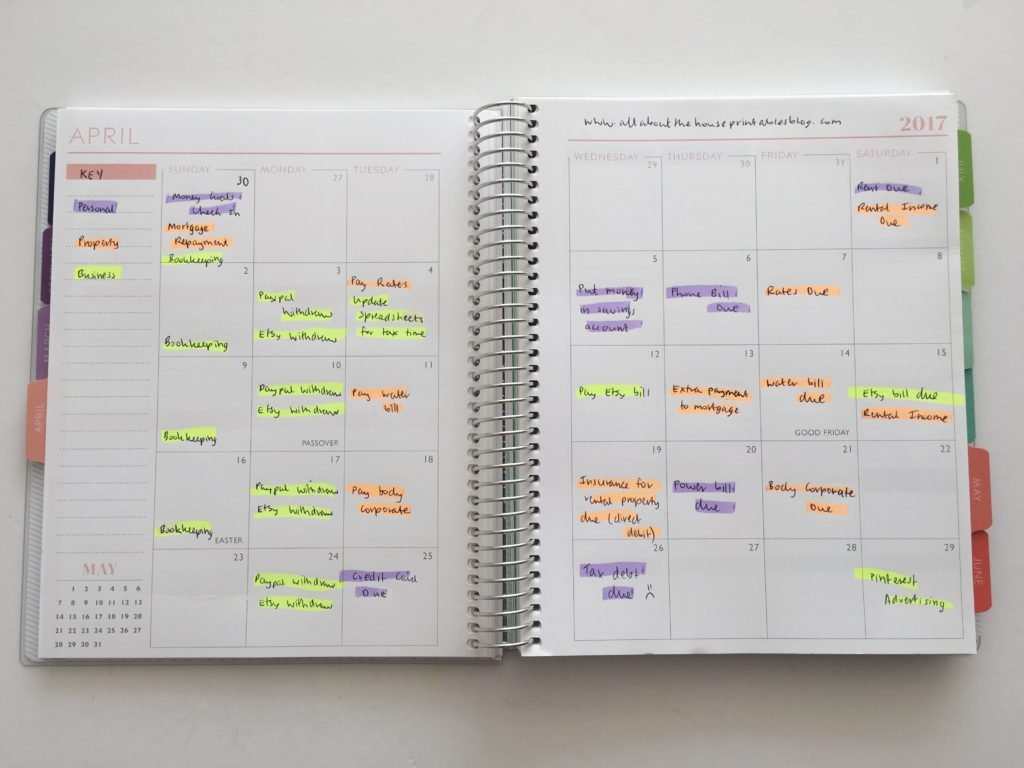 6 Useful Ways To Efficiently Plan Your Week Using Highlighters Color Coded Weekly Schedule