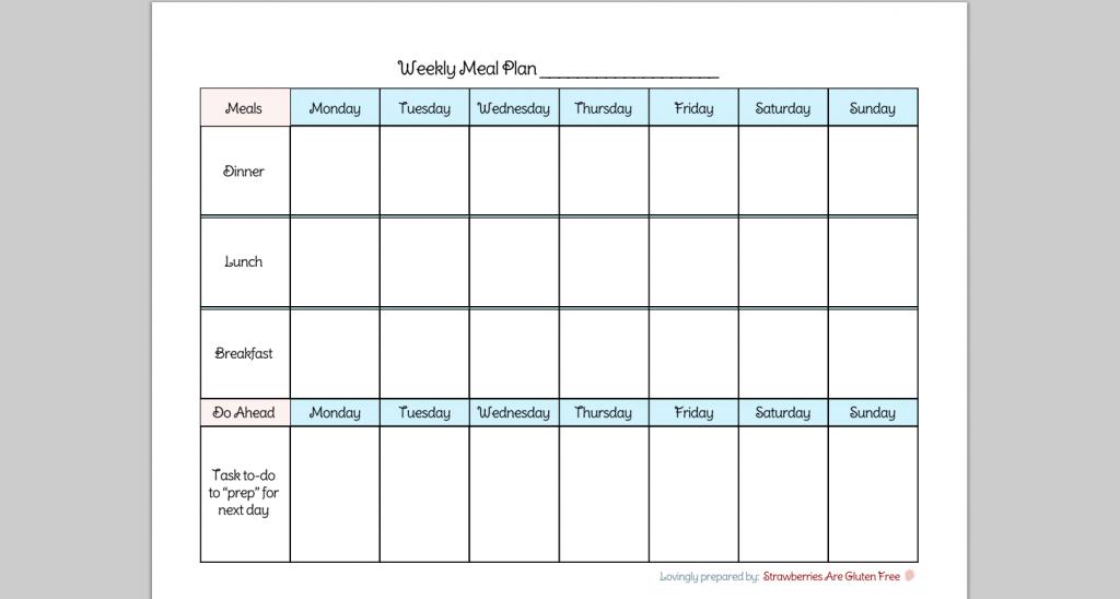 7 Day Calendar Printable – Calendar Template 2019 7 Day Calendar Template Printable