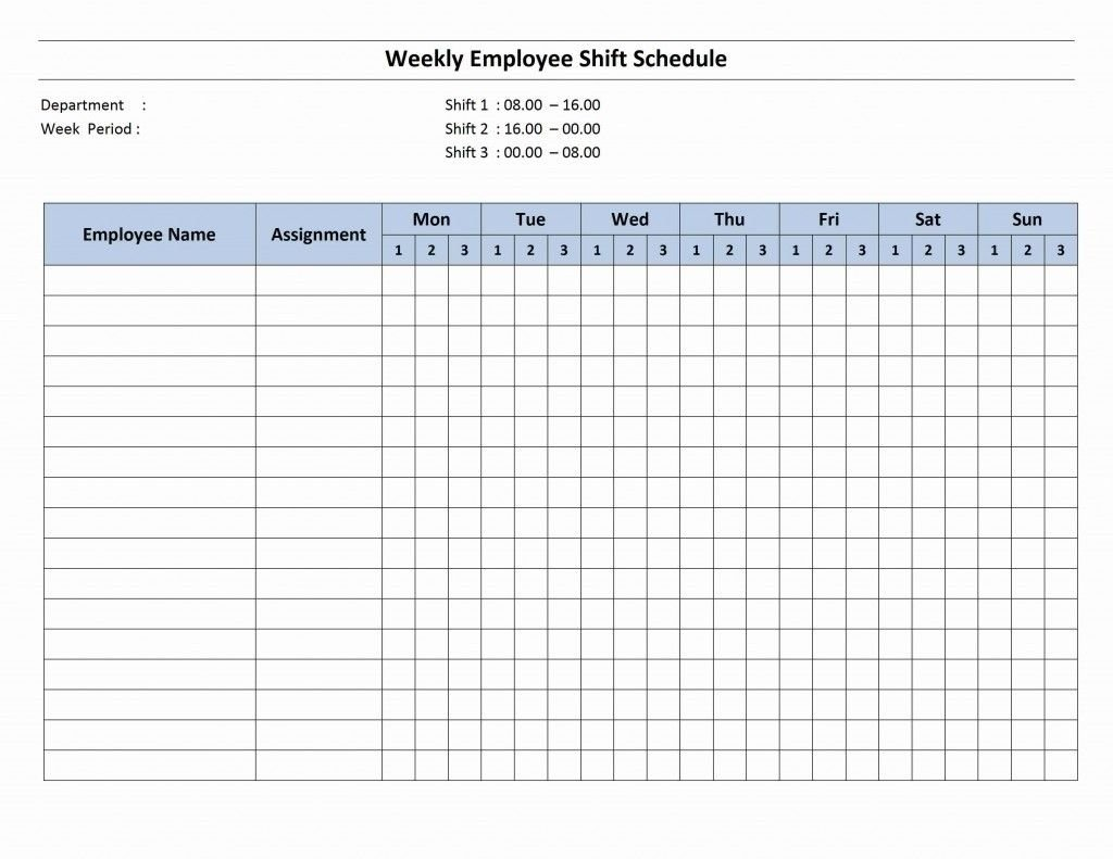 7 Day Employee Schedule Template   Blank Calendar Template 7 Day Calendar Template Printable