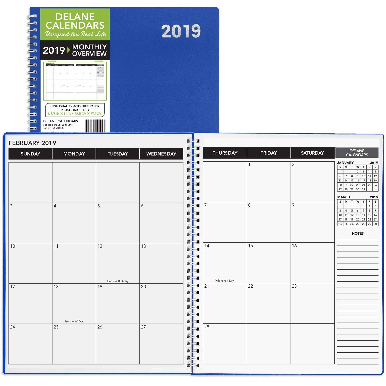 8.5 X 14 Monthly Calendar | Calendar Template Printable 8 1/2 By 11 Inch Monthly Calendar