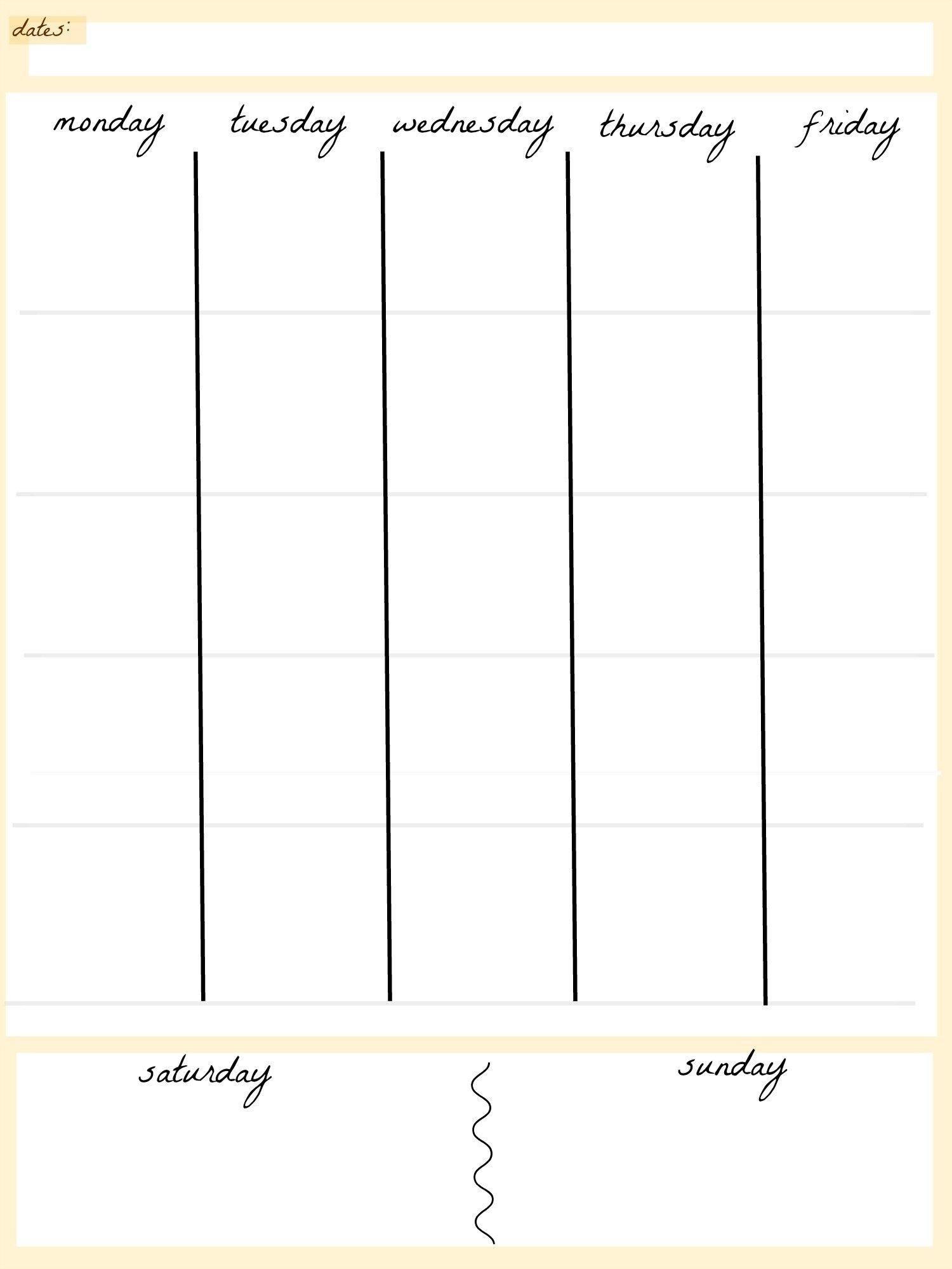 April 2019 – Page 2 – Template Calendar Design Free 4 Year Calendar Printable