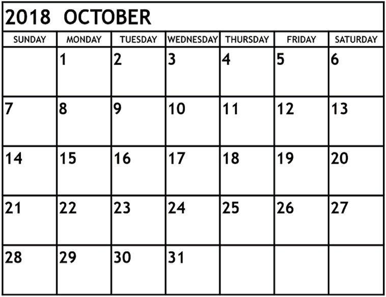 August 2018 Calendar Printable With Usa — Free Editable 2 Week Activity Calendar Editable