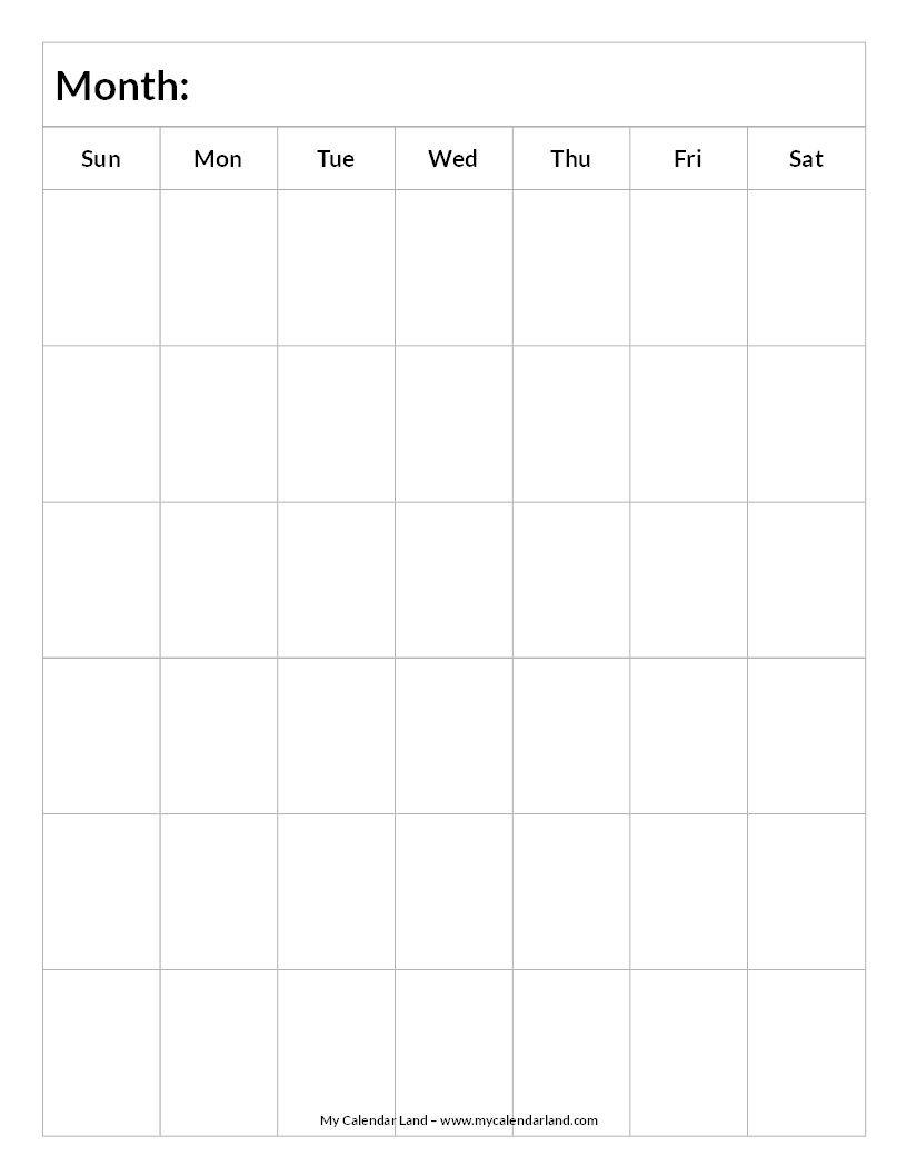 Blank 6 Week Calendar Template – Calendar Inspiration Design Blank Template For Two Week Calendar
