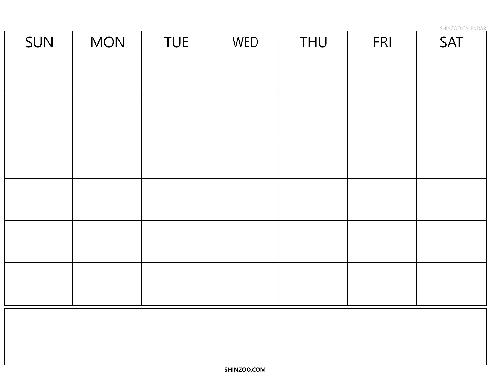 Blank Calendar 2019 2020 To Fill In – Calendar Inspiration Calendars To Fill In And Print