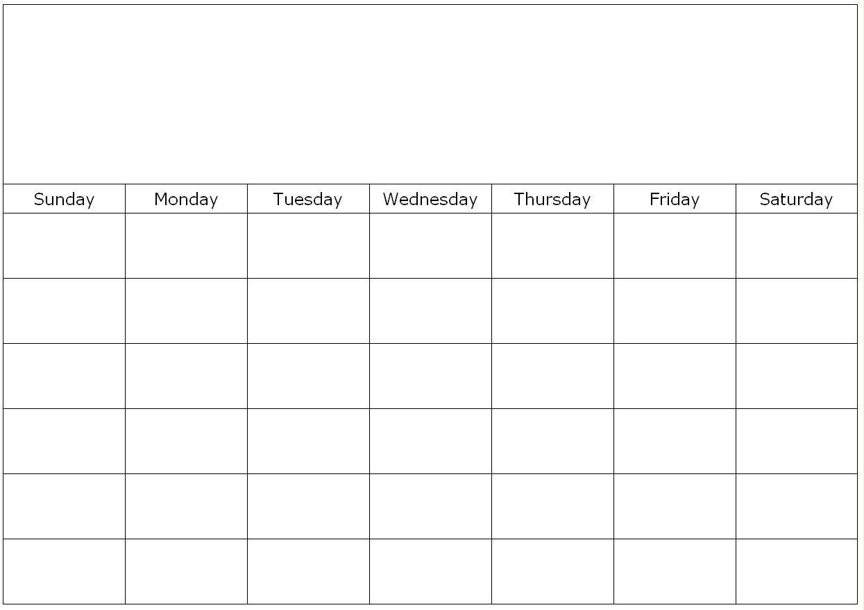 Blank Calendar Page Monday To Friday | Calendar Template Free Printable Calendars Monday Friday