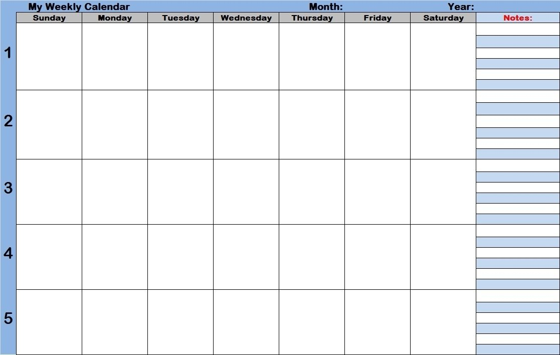 Blank Daily Calendar Template With Time Slots – Calendar Month Calendar With Time Slots