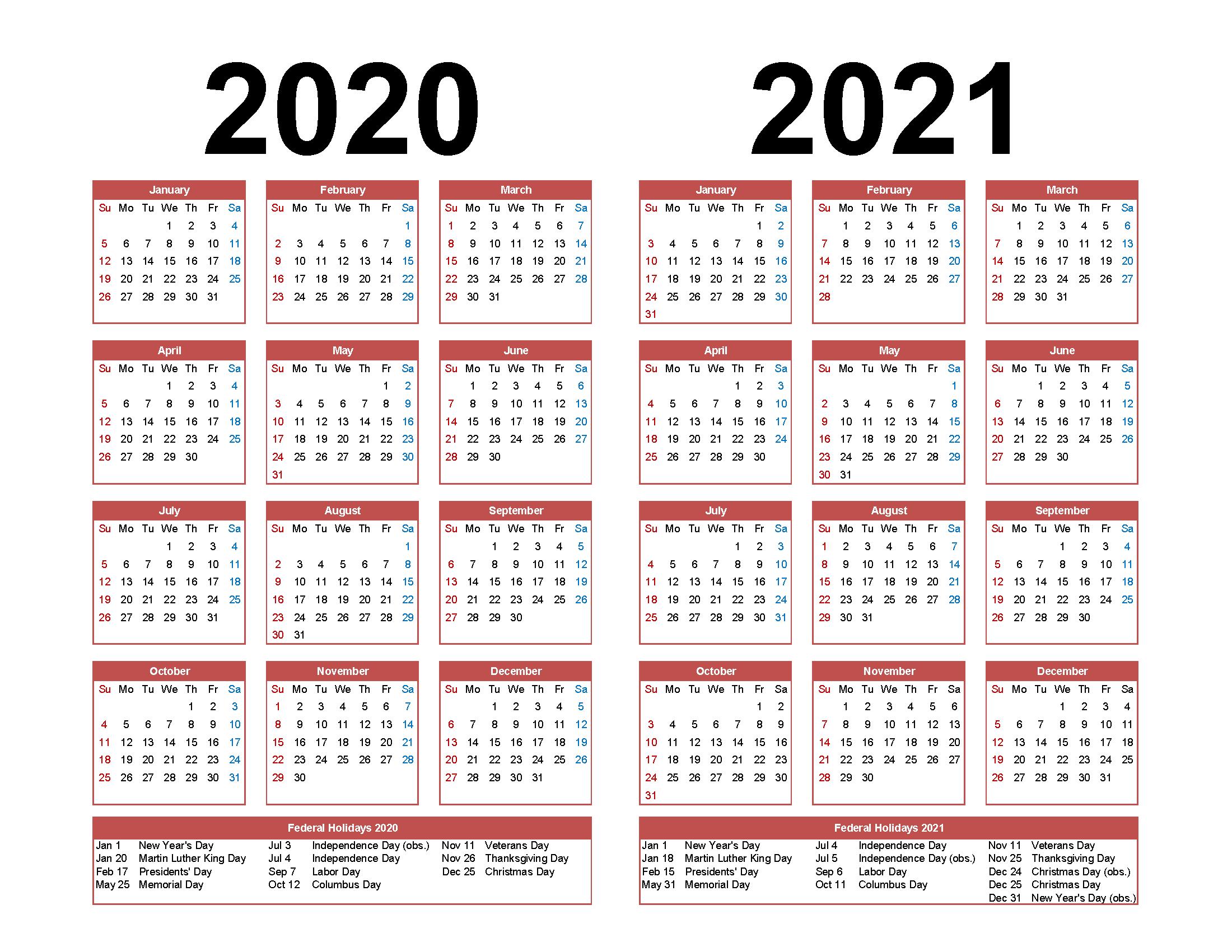 Calendar 2020 At Target   Calendar Printables Free Templates Free Printable 5 Year Calendar