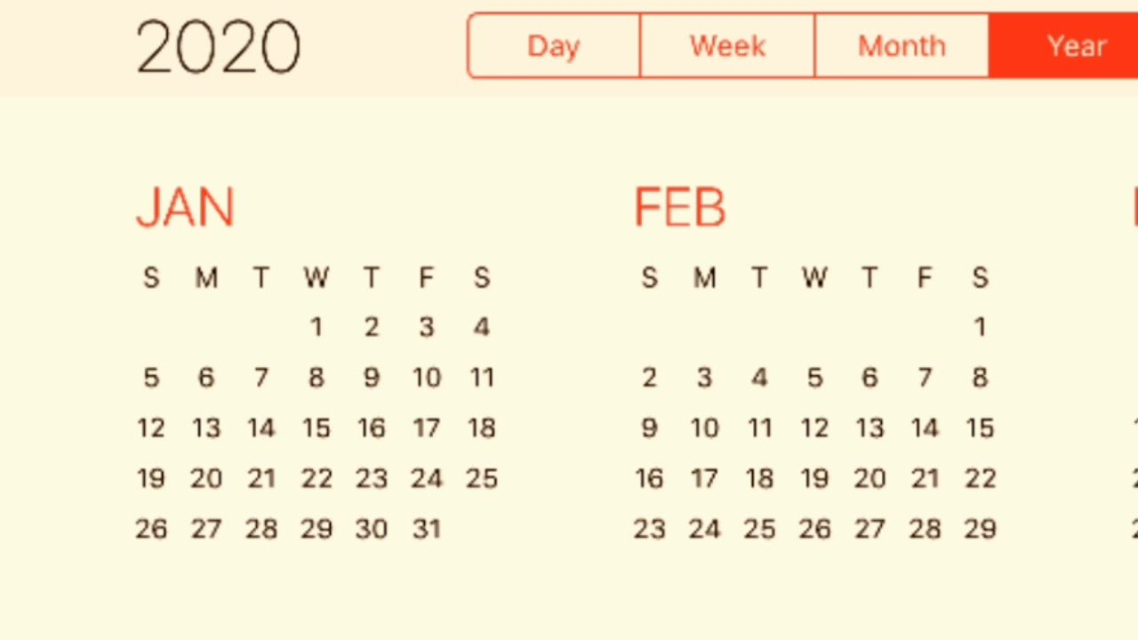 Calendar 2020 – Youtube Free 2020 Calendar With Days Counted 1 365