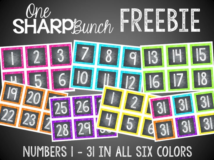 Chalk Calendar Numbers Clipart 20 Free Cliparts | Download Free Calendar With Number Cards