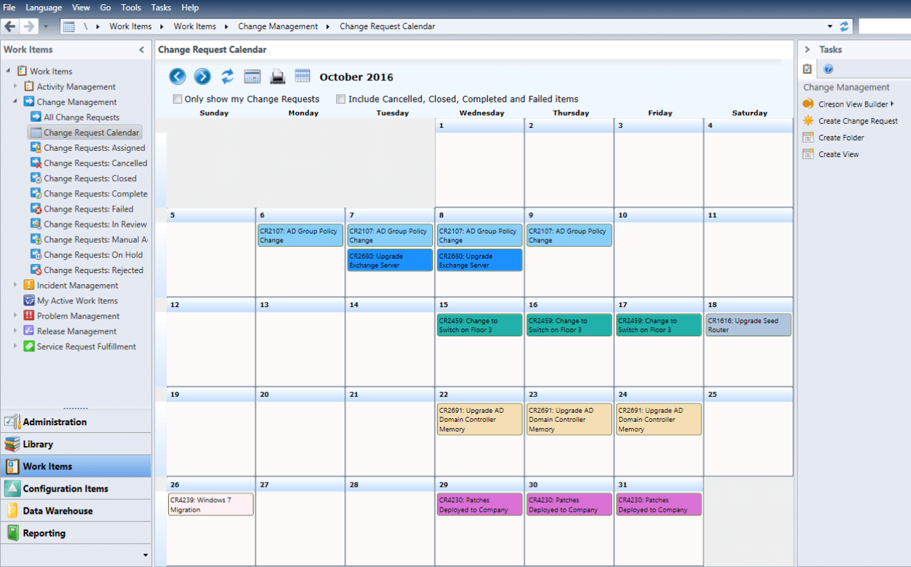 Change Calendar – Cireson Calendars I Can Edit