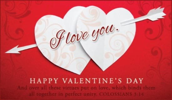 Colossians 3:14 Niv Ecard – Free Valentine'S Day Cards Online Cross Cards Lune Calebders