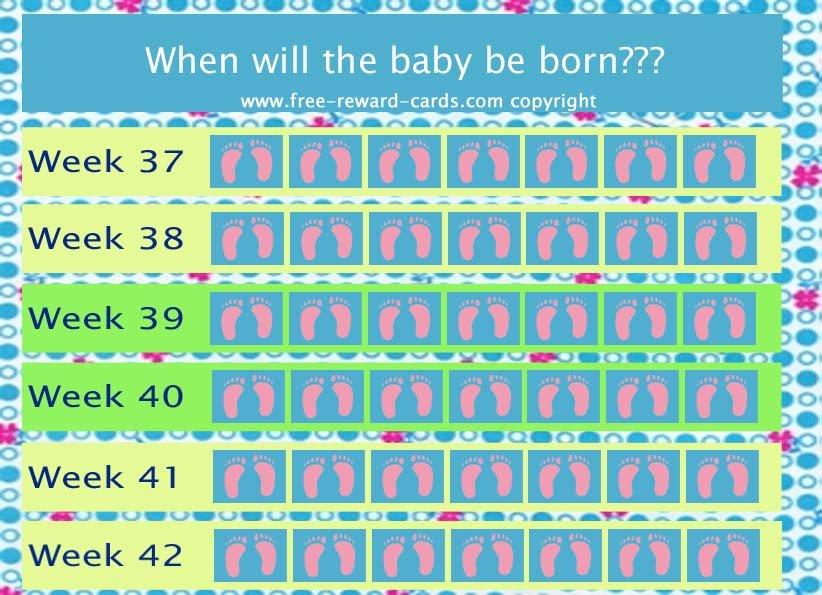 Countdown Calendar Baby Born – Website Pregnancy Countdown Calendar Printable Free