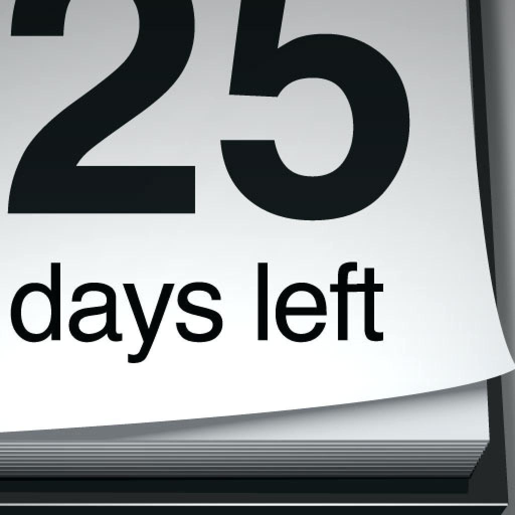 Daily Calendar Countdown | Daily Calendar Printable 2020 Retirement Countdown Calendars Printable