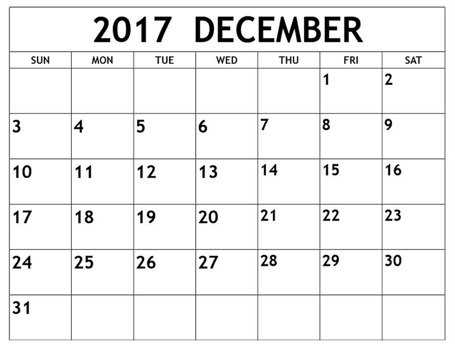 December 2017 Calendars Printable   Activity Shelter Free 2016 Calendar With Room For Taking Notes