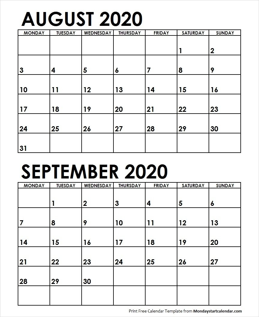 December 2020 Calendar Starting On A Monday | Calendar Free Monday Thru Friday Weekly Calendar With Time Slotsprintable