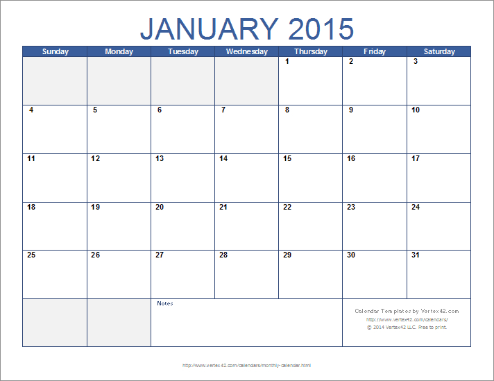 Download The 12 Month Calendar Template From Vertex42 Calendars You Can Edit