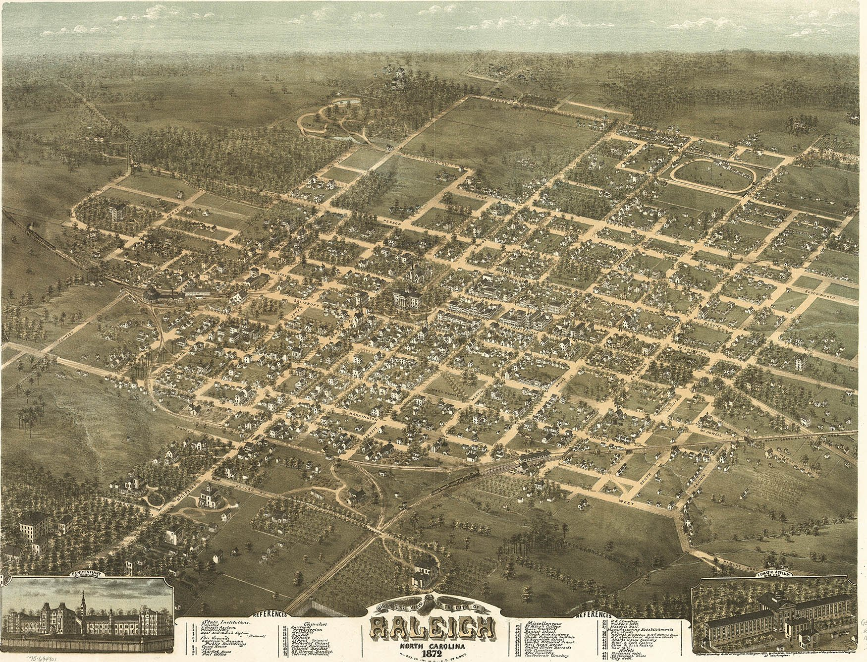 Early History– Raleigh: A Capital City: A National Wake County March Vation