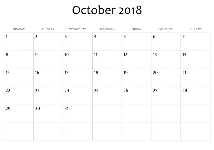 Exceptional Blank Calendar You Can Edit In 2020 | Blank April Calendar That Can Be Edit