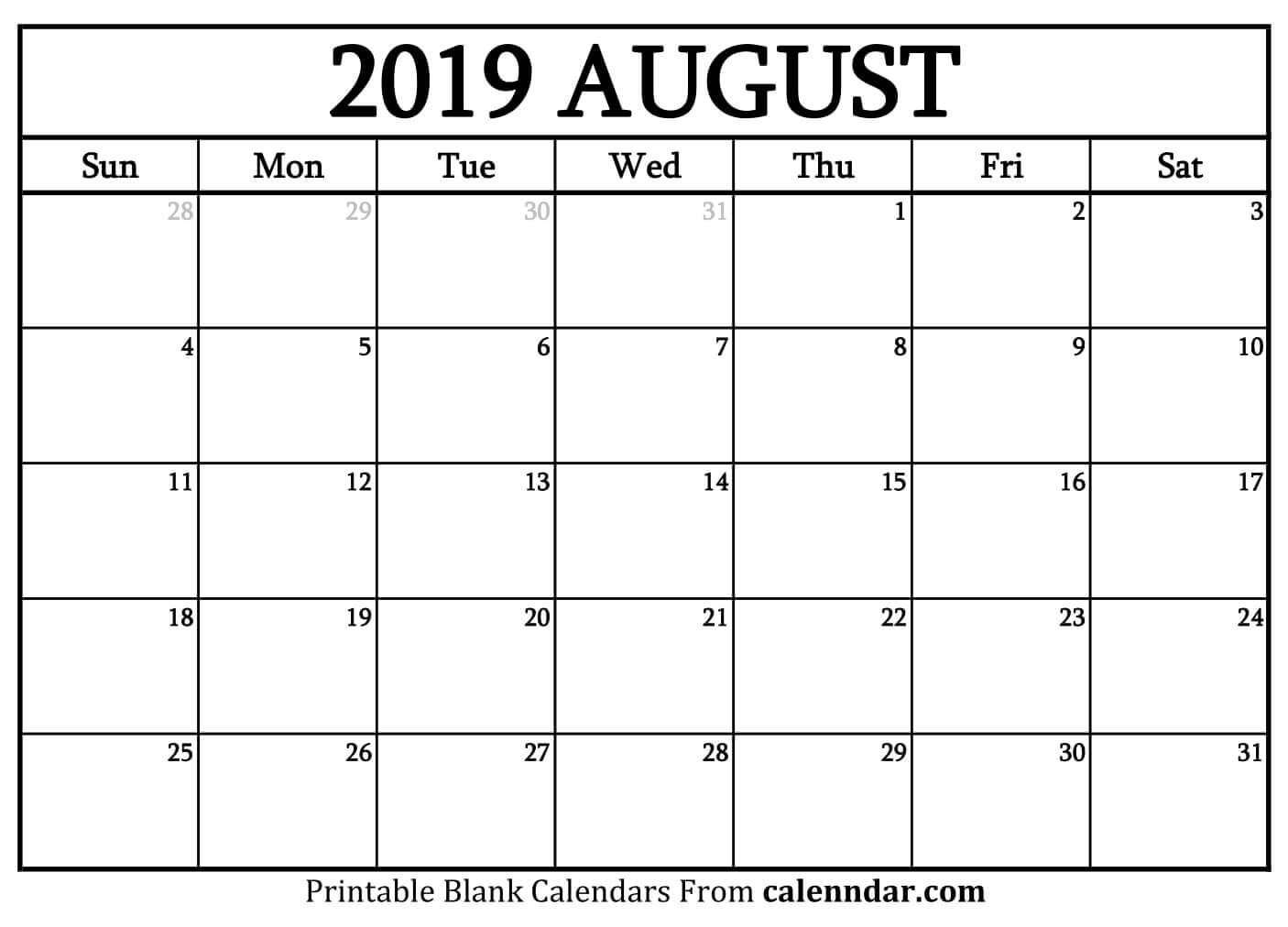 February 2019 – Template Calendar Design Mon Fri Monthly Calendar Template