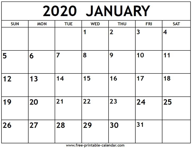 Fill In Calendar Template 2020   Calendar Template Printable Free Calendar Template To Populate