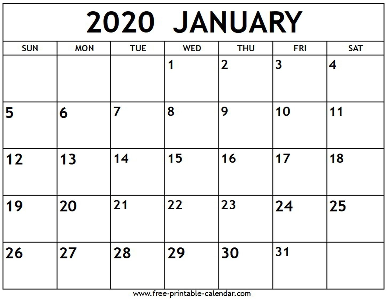 Fill In Calendar Template 2020 | Calendar Template Printable How To Fill In Calendar & Print