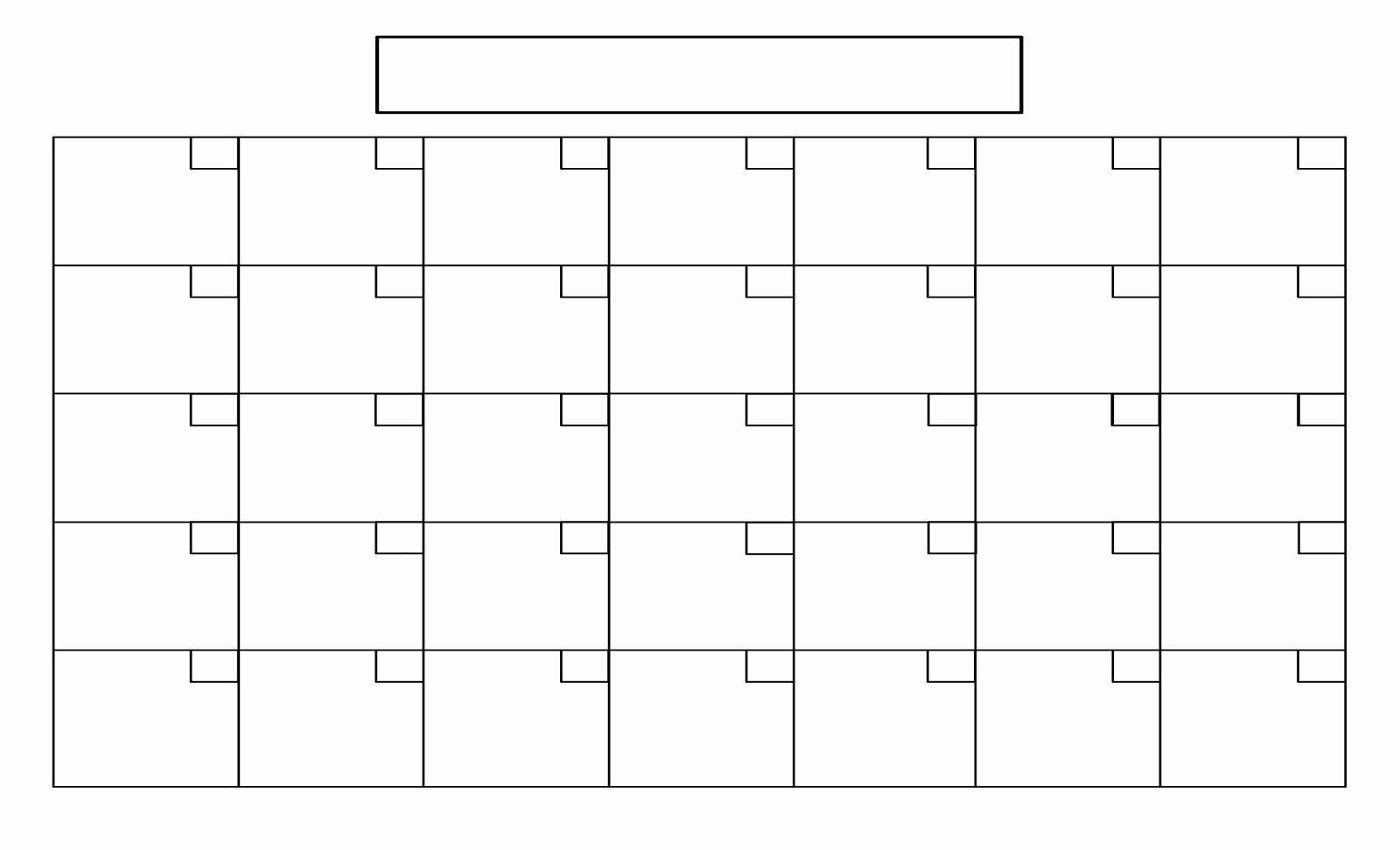 Fill In Calendar Template   Example Calendar Printable Printale Calendar Fill In