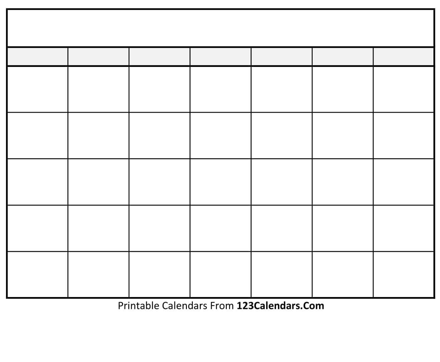 Fill In Printable Calendar Templates | Calendar Template Free Fill In Printable Calendars