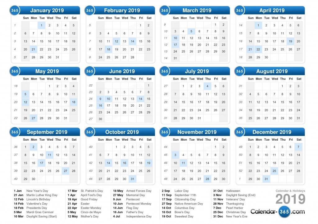 Five Year Calendar View – Calendar Template 2020 Five Year Calendar Image