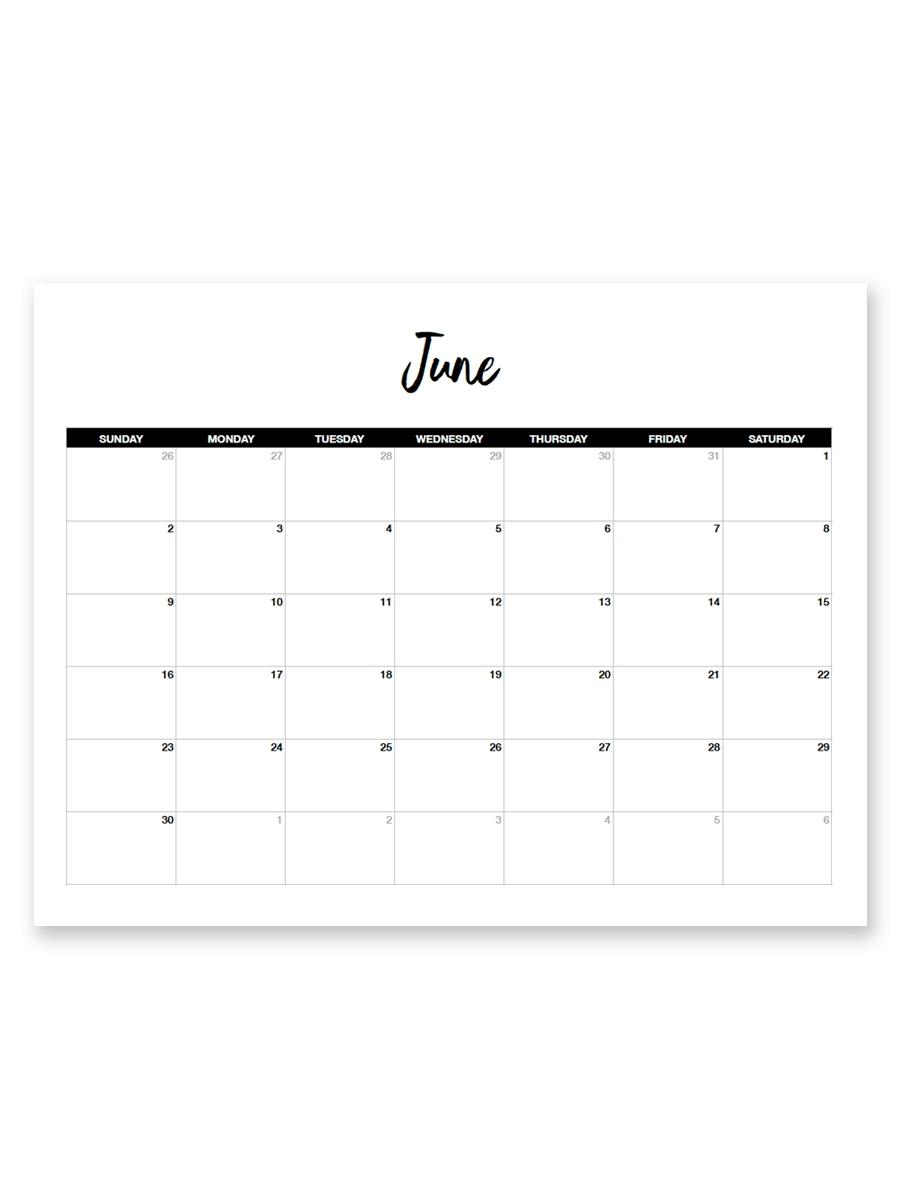 Free 8.5 X 11 Calendars – Calendar Inspiration Design 8.5 X 11 Printer Friendly Calendar