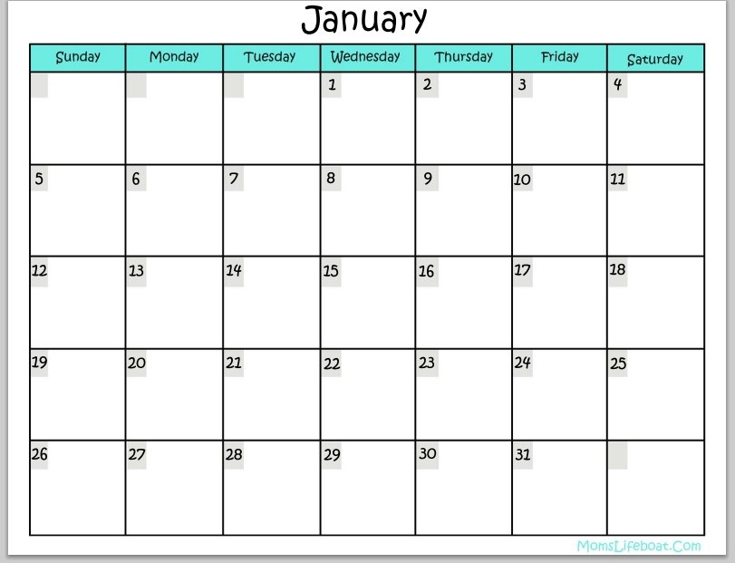 Free Calendars You Can Edit : Free Calendar Template Calendars That You Can Edit