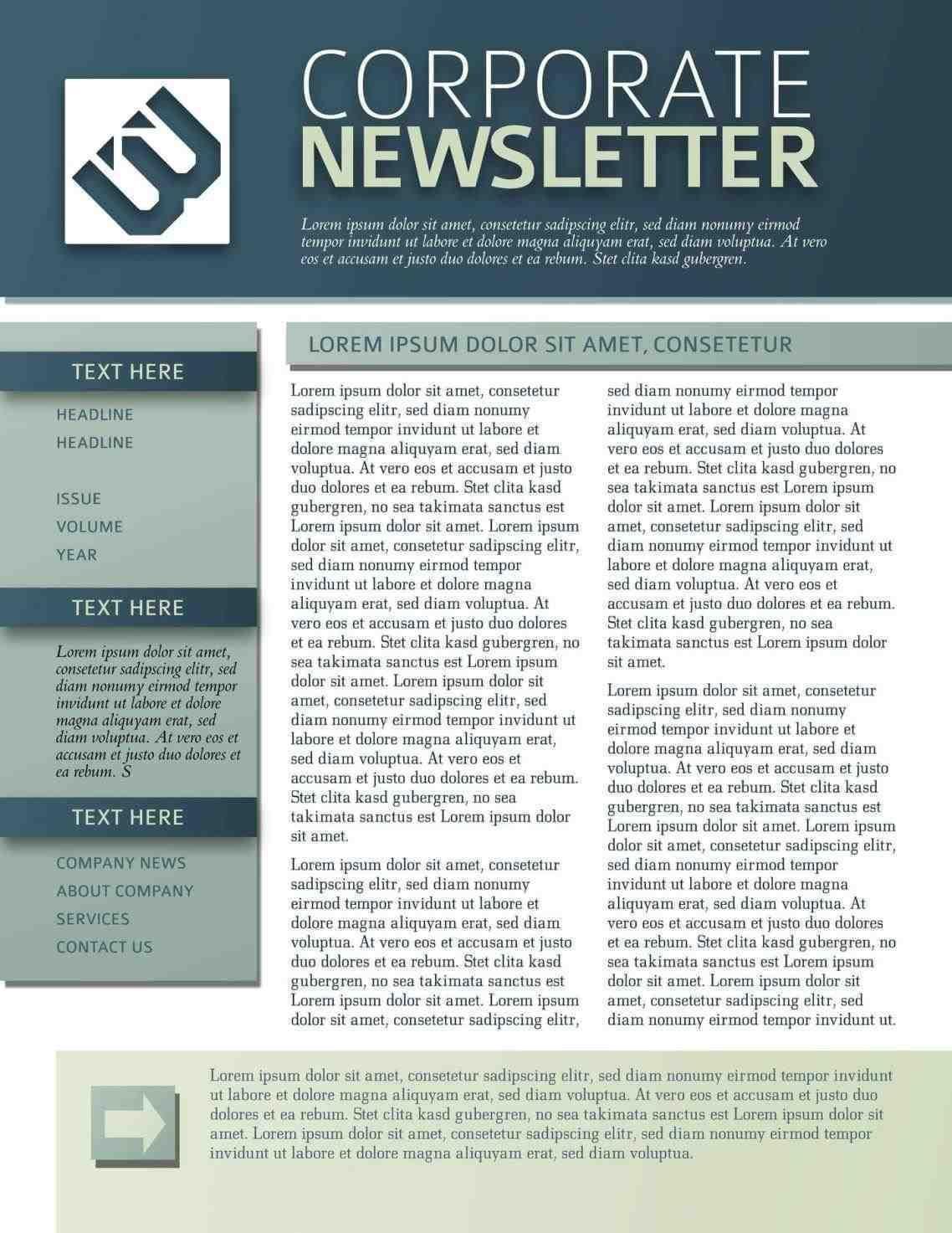 Free Department Newsletter Templates Newsletter Templates Free Monthly Calendar Template For Church Newsletter