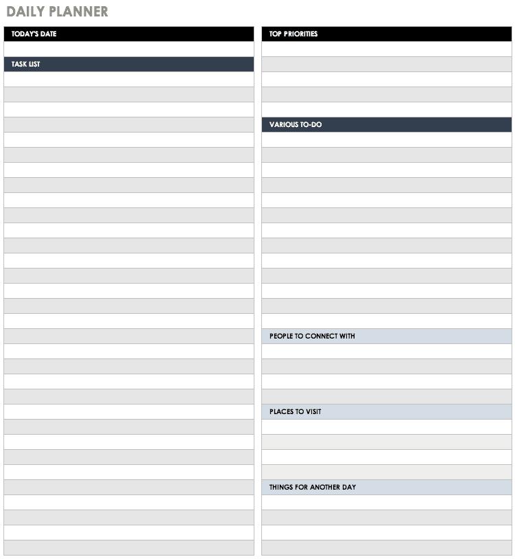 Free Excel Calendar Templates 2 Week Calender Block Printable Sunday To Sunday