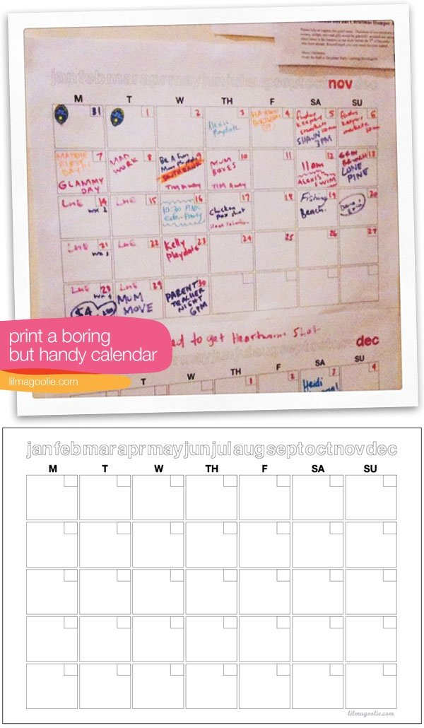"""Free – Maddie'S """"Boring But Useful"""" Fill In Printable Fill In School Schedule"""