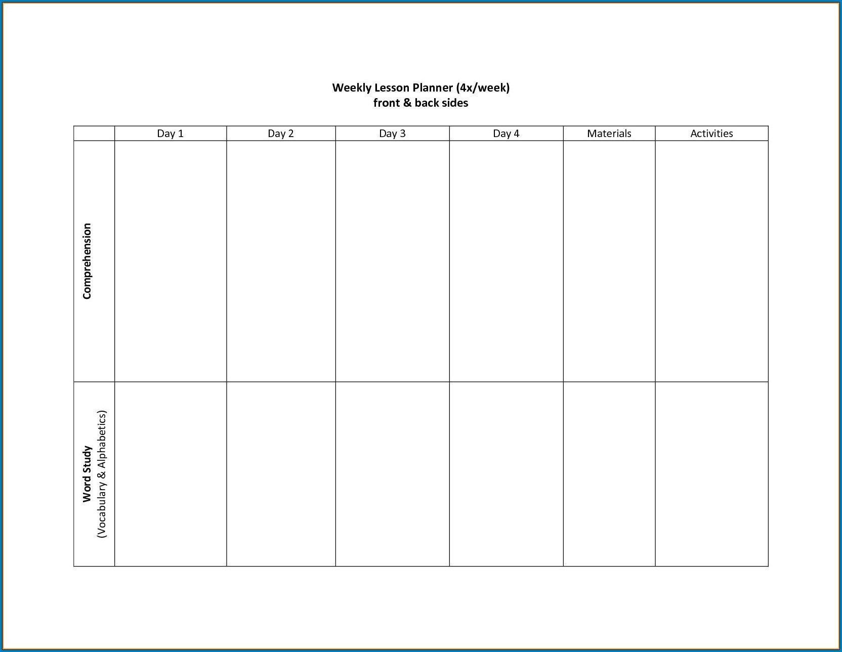 Free Printable 2 Week Calendar Template | Templateral Calendar Two Week Printable