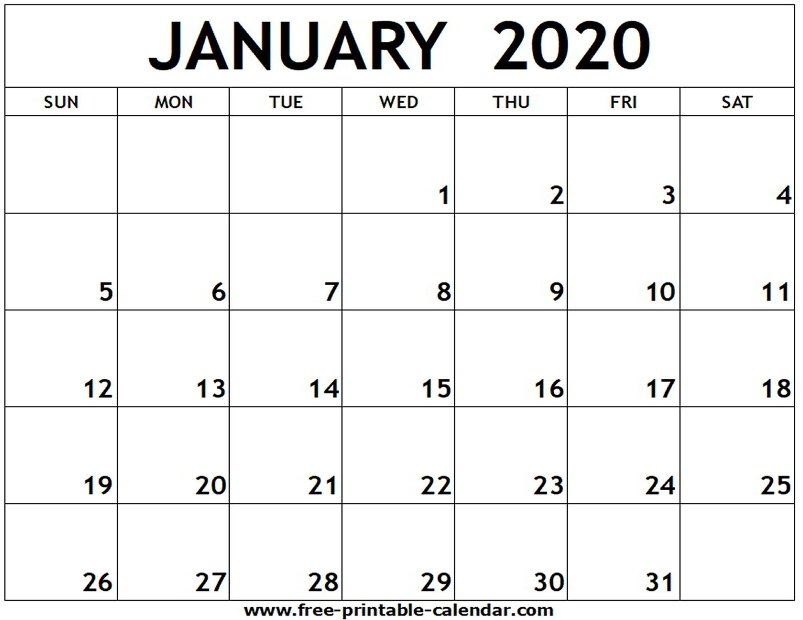 Free Printable 2020 Calendar To I Can Edit – Calendar Calender You Cann Edit With Holidays On It
