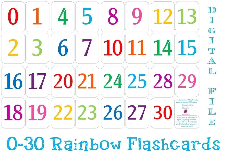 Free Printable Calendar Numbers 1 31 | Ten Free Printable Print Numbers 1 To 31