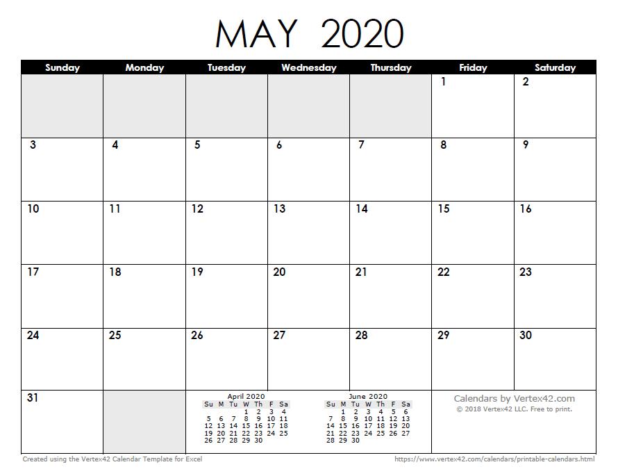 Free Printable Calendar – Printable Monthly Calendars Calendars I Can Edit