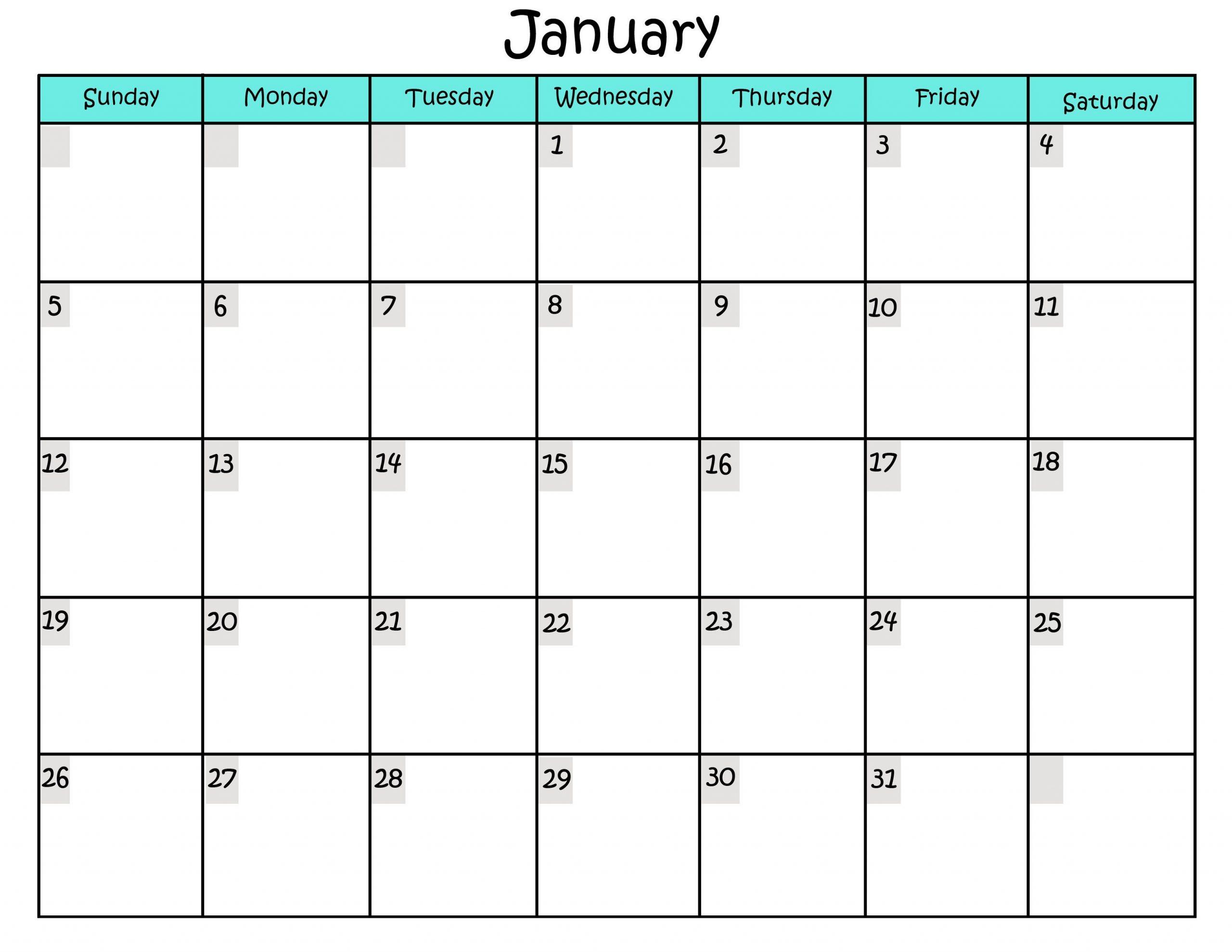 Free Printable Calendar Templates | Activity Shelter Pick The Due Date Calendar Template Free