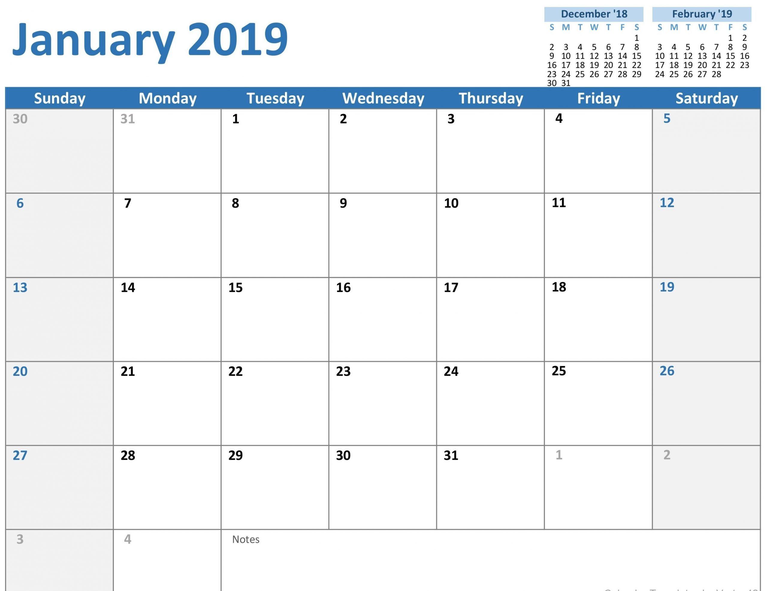 Free Printable Calendar That I Can Edit | Ten Free Printable Calendars That You Can Edit