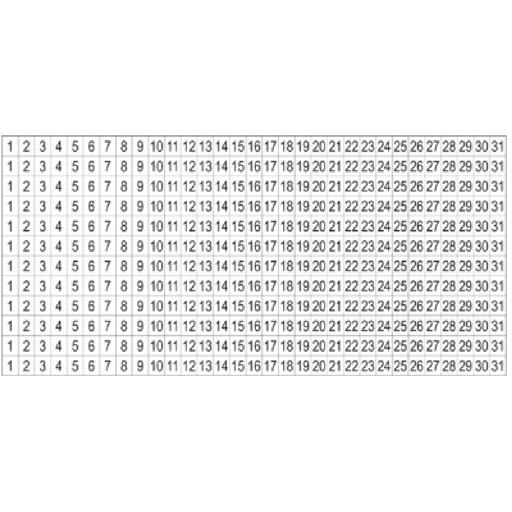 Free Printable Number Labels 1 31 – Calendar Inspiration Calendar Numbers Printable 1 31