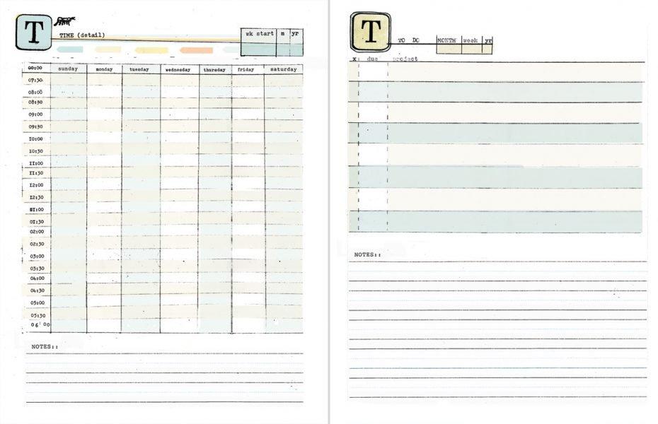 Free Printable Weekly Calendar With Time Slots – Calendar Daily Calendar With Time Slots Imaga