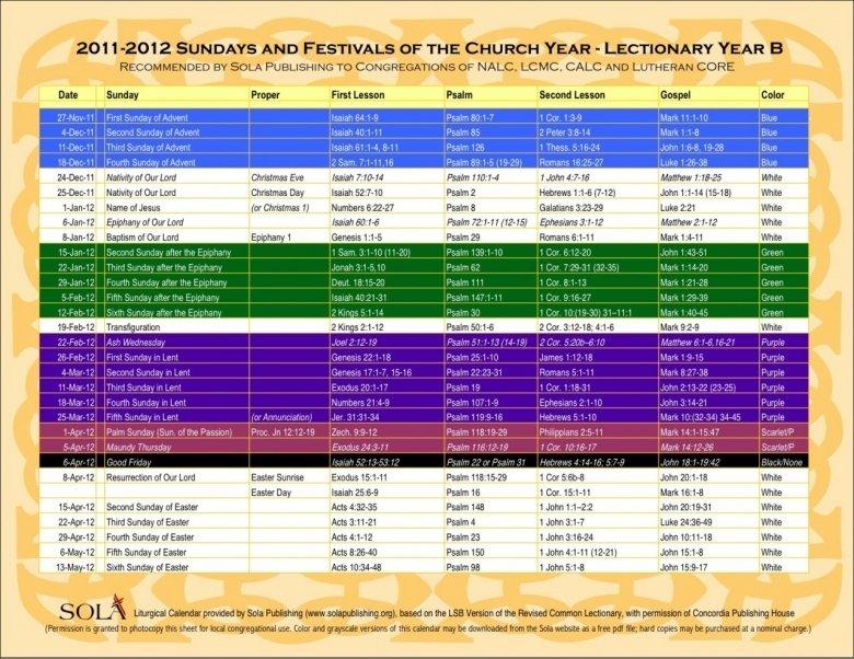 Free United Methodist Liturgical Calendar : Free Calendar Liturgical Colors Calendar For Methodist