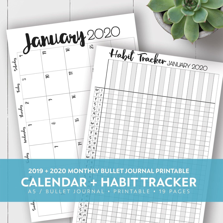 Free Yearly 5.5 X 8.5 Calendar 2020 - Calendar Inspiration 8.5 X 5.5 Calendar
