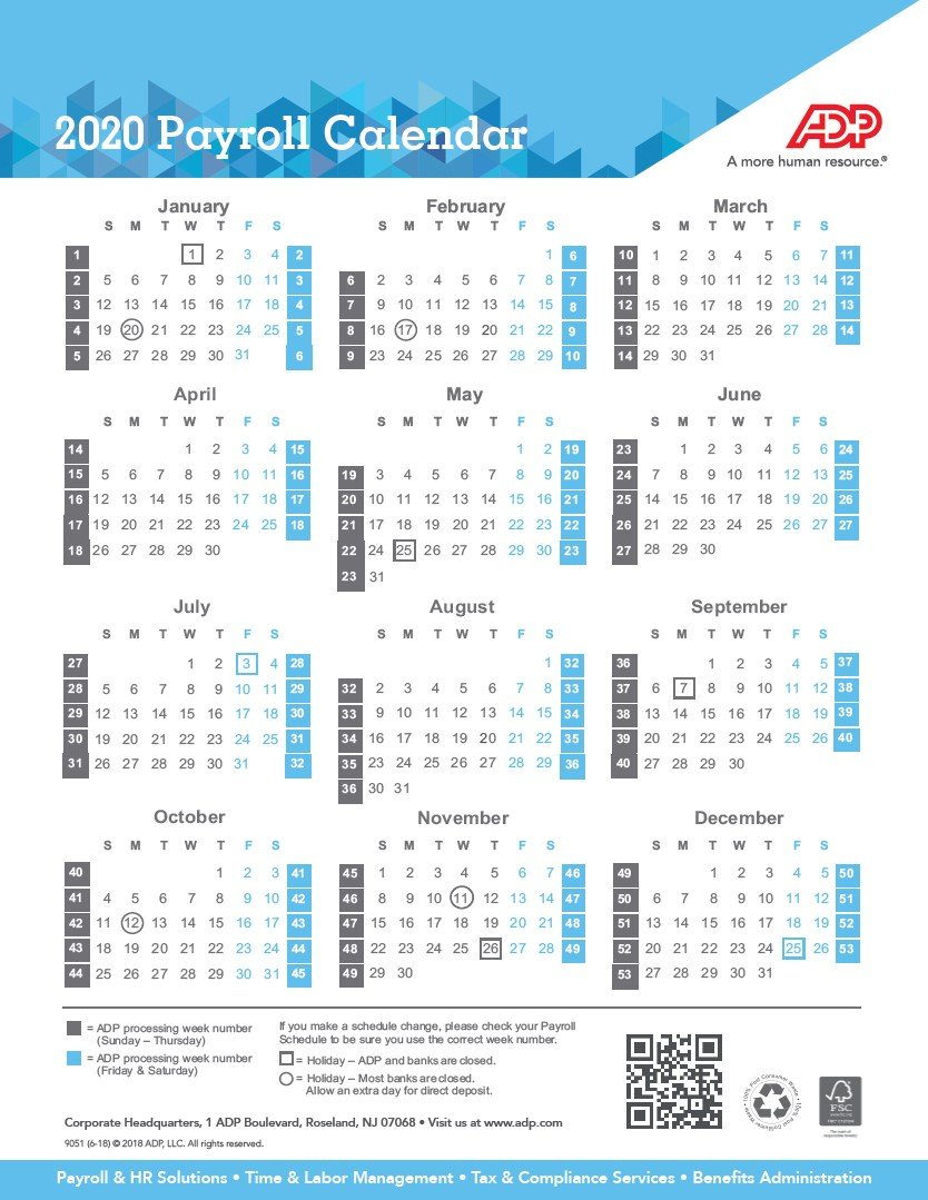 Fsc Payroll Calendar For 2021   Payroll Calendar 2021 Sap 52 Week Numbered Calendar