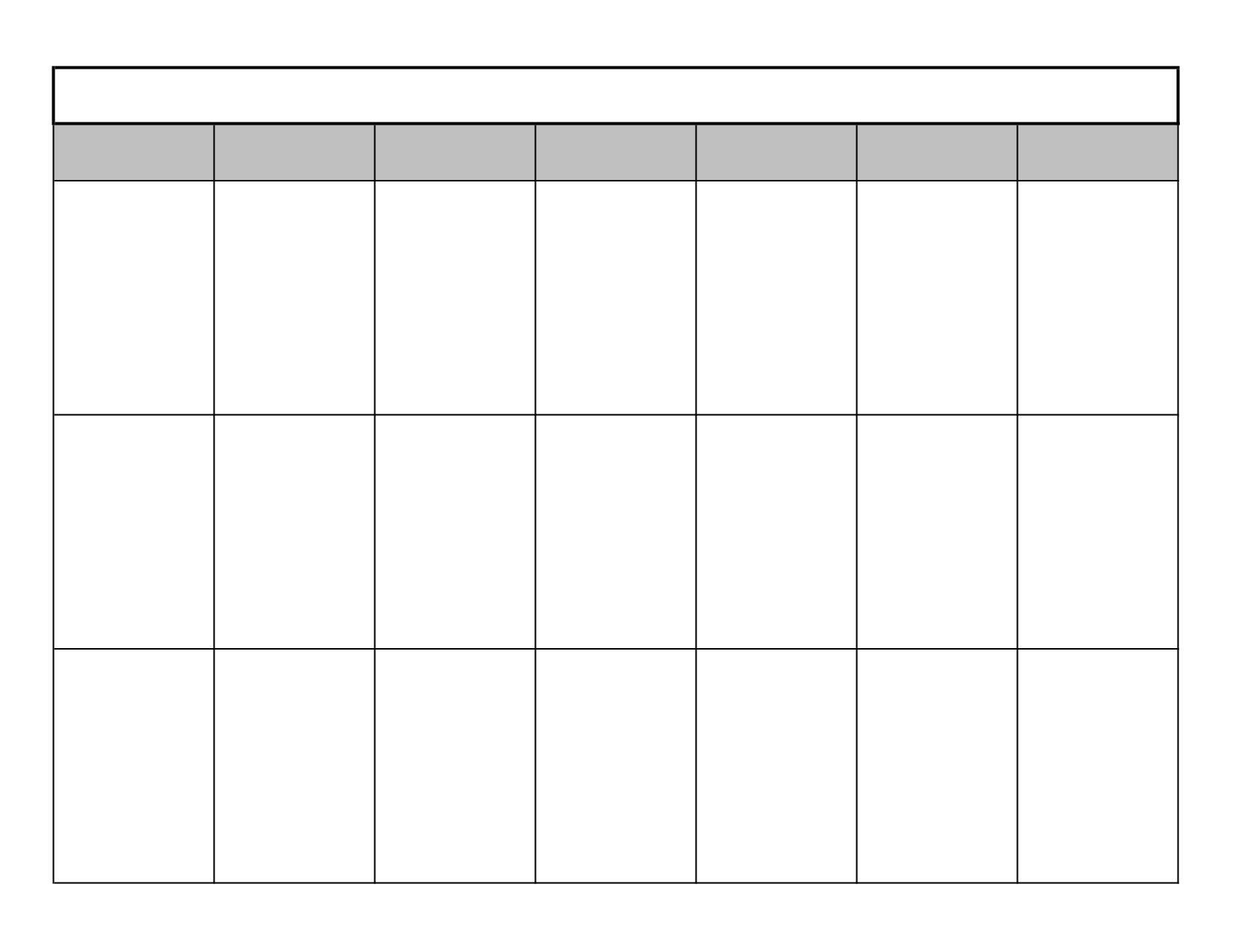 Get 2 Week Blank Calendar Template (With Images) | Blank One Week Calendar Printable Blank