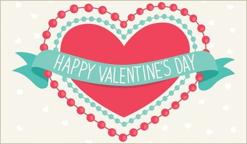 Happy Valentine'S Day Ecard – Free Valentine'S Day Cards Cross Cards Lune Calebders