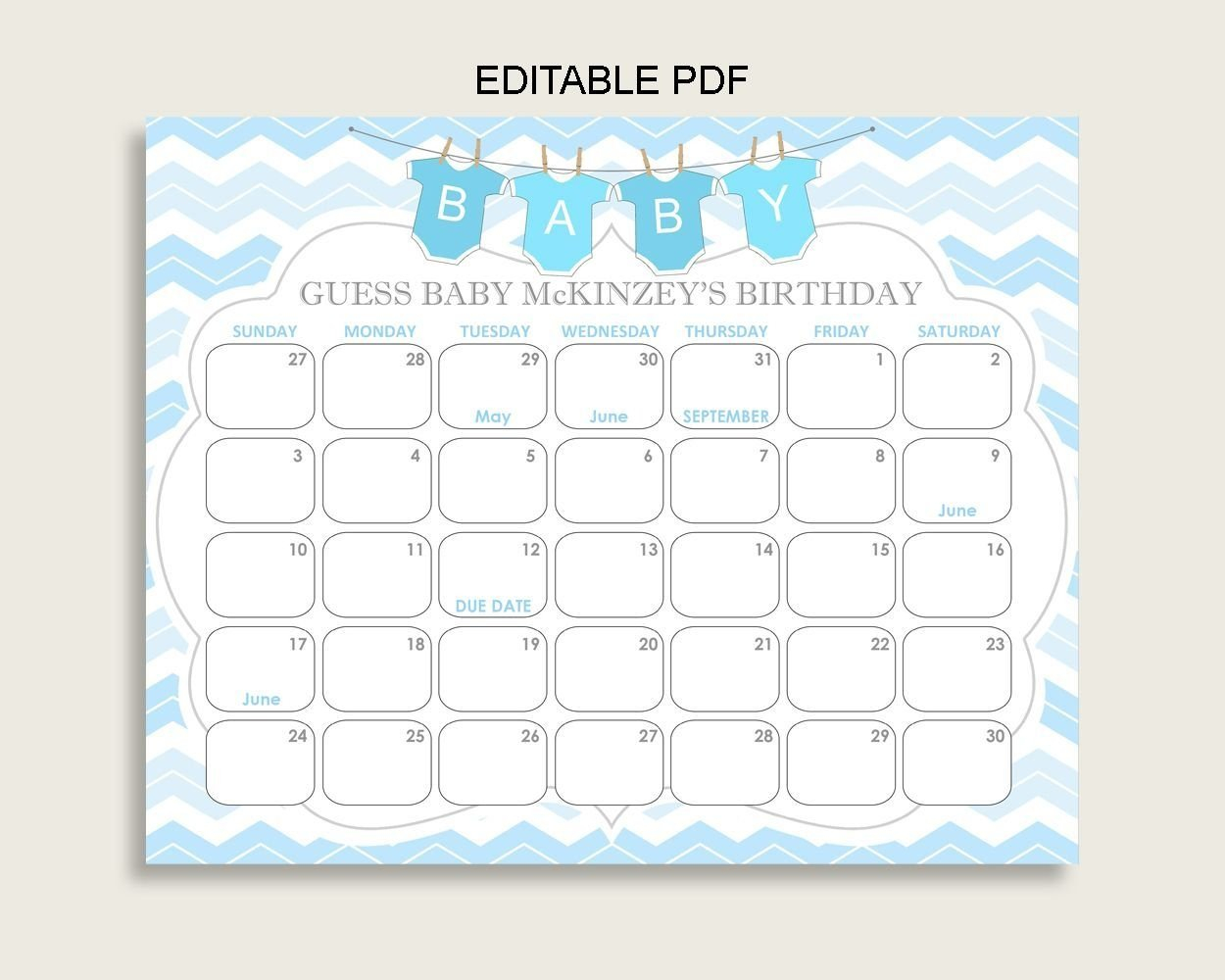 How To Guess Baby'S Due Date Calendar Printable – Get Your Guess Baby'S Due Date Calendar Printable