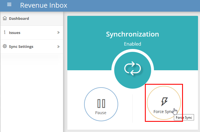 How To Open Sync Dashboard – Revenue Inbox Knowledge Base How Often Do Cozi And Outlook Sync